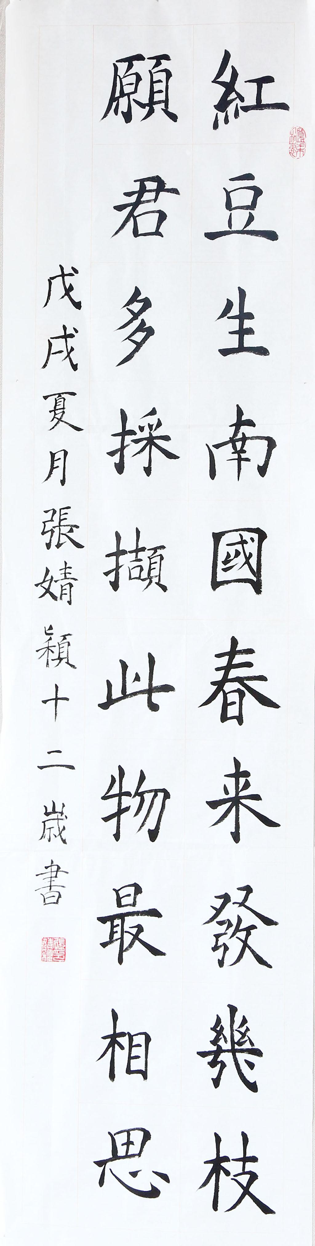 张婧颖 小学高年级组二等奖